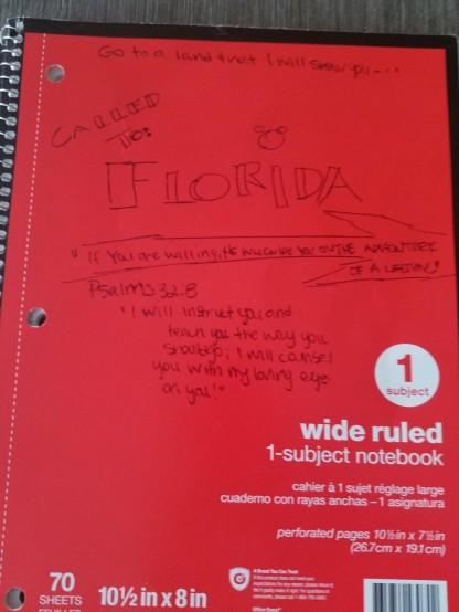 FloridaNotebook